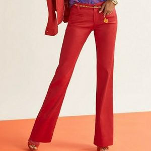 CAbi Pants - CAbi Valentine Red Trousers